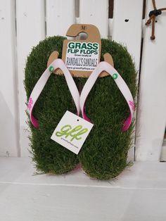 Randall's Sandal's Grass Flip Flops