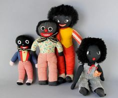 A quantity of Golliwog toys, including an African Heritage doll, Nairobi, by Caratsis; one of Aboriginal type; a James Robertsons/Anne Wilkinson Designs 1980 exampl; a Chad Valley 'Hygienic Toy'; many others, mostly knitted