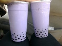 Taro bubble tea, or life? The world may never know.