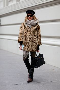 Leopard Coat To Rock With Just About Anything in My Closet