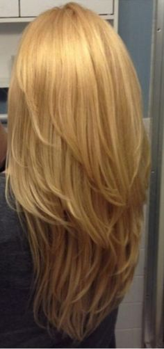 Long layers from back