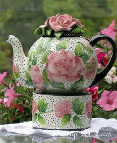 Teapot by Teacup Mosaics