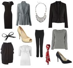 STYLE AT ANY AGE: Style Advice Service - Going Back to work - a capsule collection for the office and beyond.
