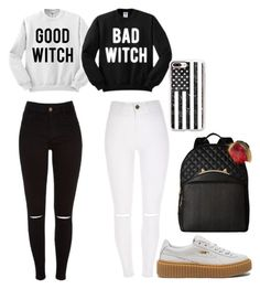 """""""# twinning #"""" by nicole11234 on Polyvore featuring Puma, Betsey Johnson and Casetify"""
