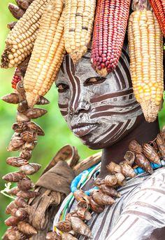 Mursi Tribe Girl, Ethiopia, Sergey Agapov