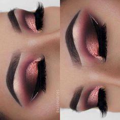 Beautiful Eye Makeup, Simple Eye Makeup, Natural Eye Makeup, Blue Eye Makeup, Eye Makeup Tips, Makeup For Brown Eyes, Makeup Goals, Pretty Makeup, Makeup Geek