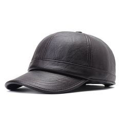 Mens Simple Style Warm Protect Ear Windproof PU Leather Baseball Cap Outdoor Sports Hat is hot sale on Newchic Mobile. Leather Baseball Cap, Baseball Hats, Leather Hats, Pu Leather, Hats Online, Ear Warmers, Hats For Men, St Kitts And Nevis, Simple Style