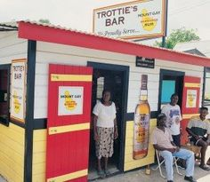 Bajan Rum shop... They are everywhere! :-) Perfect way to meet and mingle #Caribbeandreamsmagazine.com #Barbados #beaches