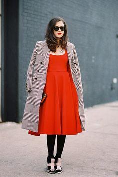 Vanessa Jackman: New York Fashion Week AW 2014....Eleonora