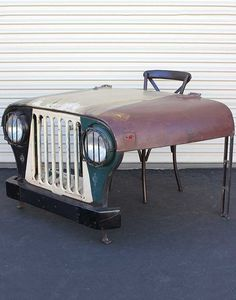 perfect for a desk in the garage/shop #jeep