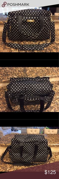 Jujube Be Prepared Diaper Bag Brand new, never been used Jujube Diaper Bag including matching changing pad. Currently selling in stores and online for $200. JuJuBe Bags Baby Bags