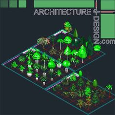 Fuel filling stations architecture design, a collection of 19 gas stations designs (Autocad drawings) - Architecture for Design Autocad, 3d Tree, Playground Design, Landscape Architecture Design, Parking Design, Cad Drawing, Blogger Templates, Trees And Shrubs, Modern House Design
