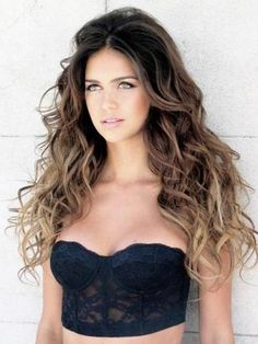 I super love ombre hair, it adds a very nice soft natural look. If you have olive skin tone like Jamie Chung, this color will look make your skin glow Everyone loves a curly look, but lets not forg...