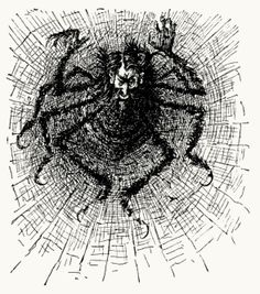 An incubus. From Trilby, a novel, written and illustrated by George Du Maurier, New York, 1894.