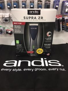 Andis Supra ZR Clipper r #abbs #Atlanta #barber #supply #Andis #clipper #Supra #ZR Barber Clippers, Andis Clippers, Barber Shop Supplies, Beauty Supply, Atlanta, Tools, Gifts, Accessories, Products