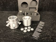Measuring Cups, Box, Silver, Measuring Cup, Boxes
