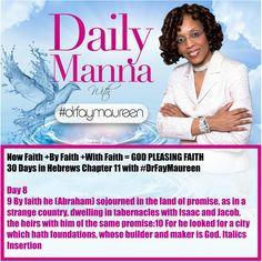 DM#222 30 Days in HEBREWS 11 Day 8