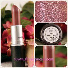 Mac Hot Chocolate Lipstick Swatches