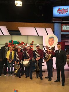 Patriot Brass was on ESPN today, want to guess what it was about?