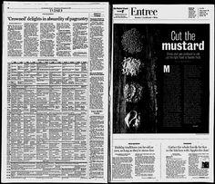 Register-Guard - 12/07; pg 19: Mustard Compound Butter; Hazelnut ...