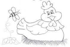 Art'sanália: Riscos de galinhas