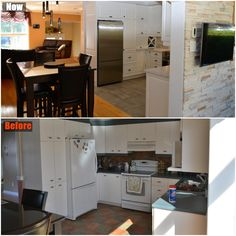 Renovated my kitchen.  Stripped down everything and installed new everything.