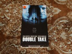 Double Take (VHS, 1998) OOP LIVE Craig Sheffer/Brigitte Bako Erotic *NOT ON DVD*