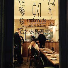 Logo-Identité visuelle du Café/Restaurant MOKONUTS, paris