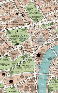 Infographic: Explore The World Of Literary London With This Exquisite Book Map