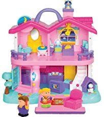All dollhouse rooms, furniture and accessories are so pretty and make such funny sounds as your toddler plays with this My Sweet Home play house. Kids Doll House, Toy House, All You Need Is, Toddler Playhouse, Toy People, Footprint Crafts, Toddler Dolls, Plush Animals, Small World