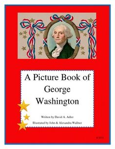 A Picture Book of George Washington by David Adler   - Pinned by @PediaStaff – Please Visit  ht.ly/63sNt for all our pediatric therapy pins