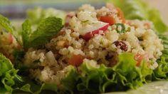 Tomato Mint Quinoa Salad Video