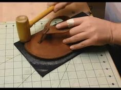 Let's Make Leather Flip Flops! Part 9 - Soles, Burnishing, Finishes (THE...