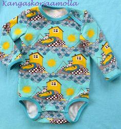 Vauvalle body http://kangaskorjaamolla.blogspot.fi/2015/04/ensimmainen-body.html