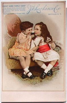 Vintage Victorian Postcards   ... this is an original victorian trade card victorian trade cards