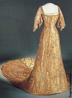 The Wardrobe of Queen Maud of Norway; Coronation dress, 1906