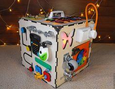 Купить Копия работы Бизибокс. Бизиборд. Бизикуб   Handmade, Busyboard,  Монтессори, бизиборд, бизибокс