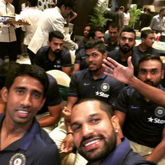 Enjoyed the team event with the boys for 500 test match!!!