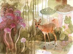 Long Night of Illustration – Berlin Contemporary Illustration Exhibition, illustration, the german illustrators organization - Katrin Merle