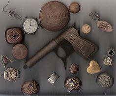 Metal Detecting finds. Scanner Art. Next I will scan my kitchen sink. by DFXDaveinMD, via Flickr