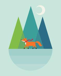 "Winter Wish - Fox said : "" Tis the season to be jolly : ) """