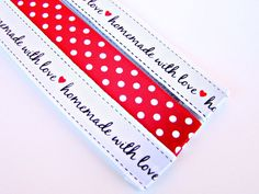 Pattern Magnet and Chart Keeper - Handmade, Homemade with Love | Slipped Stitch Studios