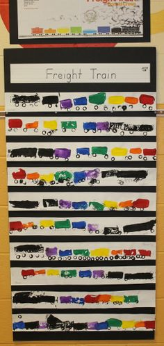 Freight Train by Donald Crews is a favorite book during the transportation theme.