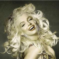 This Is One Of My Favorite Pictures Of Marilyn. She Looks Like She's Having Fun…