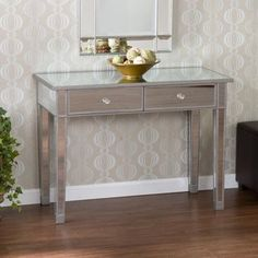 love mirrored furniture