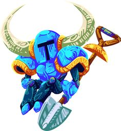 Shovel Knight by Chickenwithtie