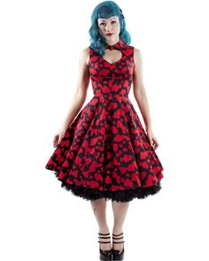 436dc92433f2 Valentina Hearts Dress - Dresses - Column 1 - Clothing - Tragic Beautiful buy  online from Australia