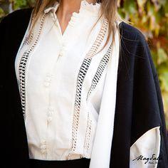 10+ mejores imágenes de Camisas vainica | vainicas, camisas