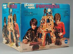 1975 Planet Of The Apes Fortress Playset by Mego