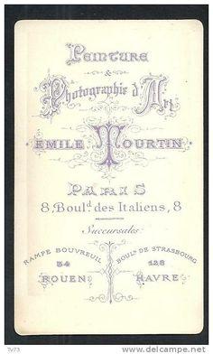 TOURTIN Emile (2) - Paris, succursales Rouen et Hâvre
